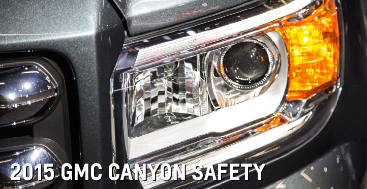 2015 GMC Canyon Safety