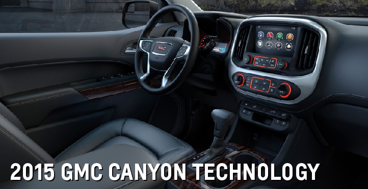 2015 GMC Canyon Technology